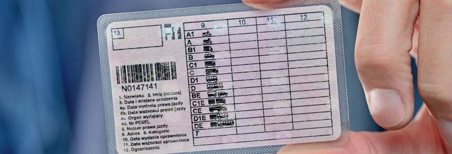Assurance permis de conduire